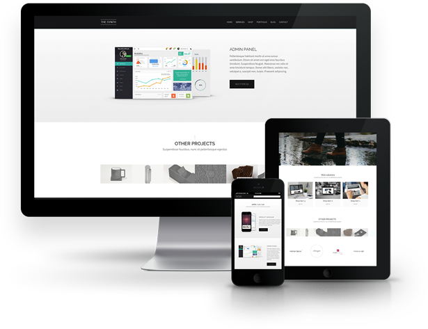 SYNTH - Creative MultiPurpose WooCommerce Theme