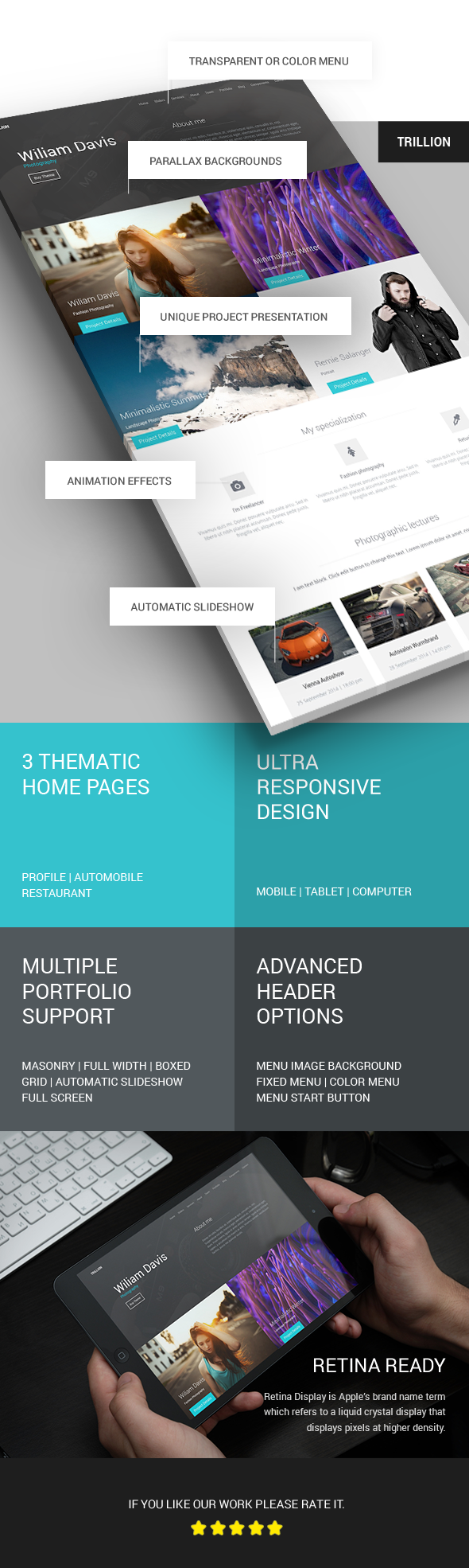 TRILLION - Premium MultiPurpose WordPress Theme