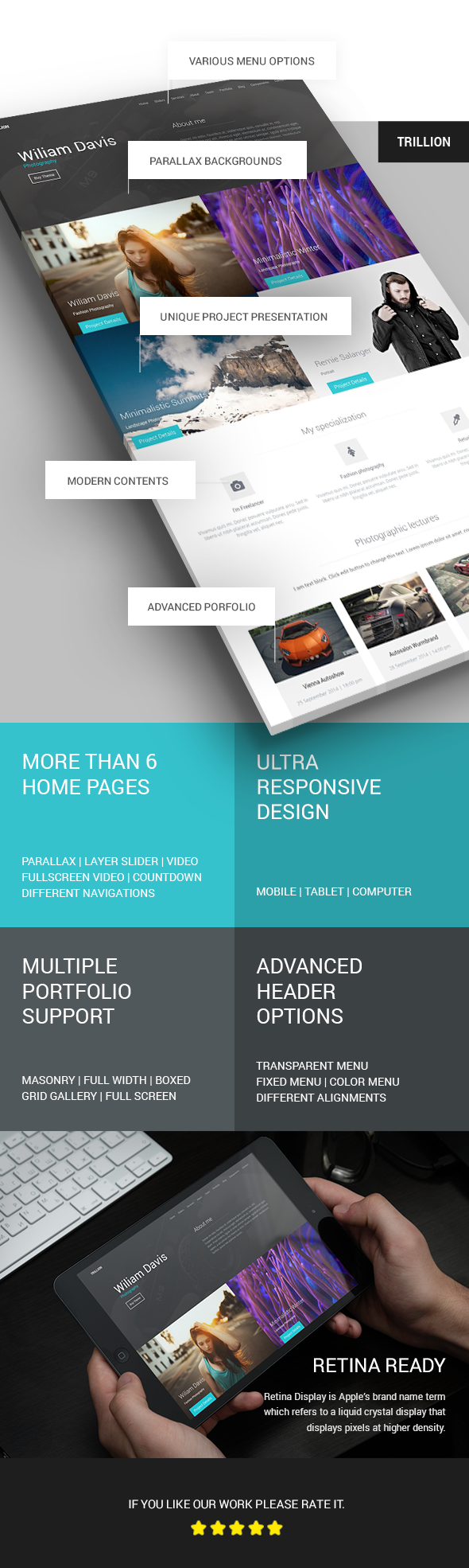 TRILLION - Premium MultiPurpose HTML5 Template